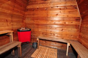 Sauna available for use - additional rates apply due to high cost of hydro.
